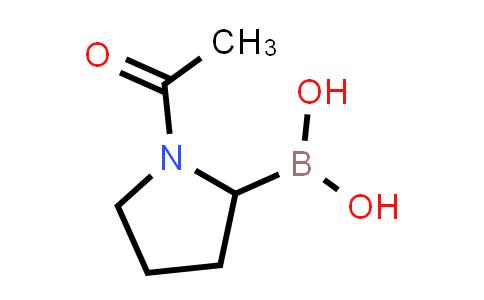 (1-acetylpyrrolidin-2-yl)boronic acid