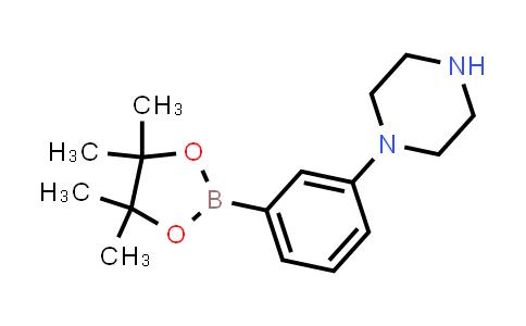1-(3-(4,4,5,5-tetramethyl-1,3,2-dioxaborolan-2-yl)phenyl)piperazine