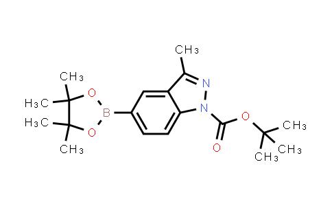 tert-butyl 3-methyl-5-(4,4,5,5-tetramethyl-1,3,2-dioxaborolan-2-yl)-1H-indazole-1-carboxylate