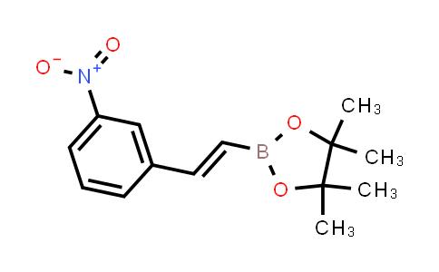 (E)-4,4,5,5-tetramethyl-2-(3-nitrostyryl)-1,3,2-dioxaborolane