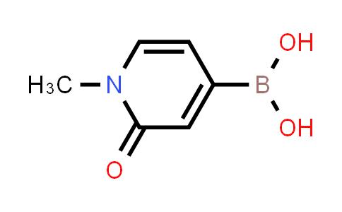 BP24599 | 1351413-50-7 | (1-methyl-2-oxo-1,2-dihydropyridin-4-yl)boronic acid