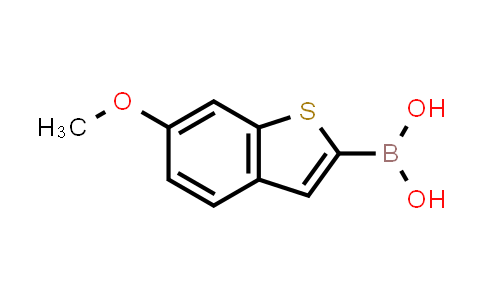 (6-methoxybenzo[b]thiophen-2-yl)boronic acid