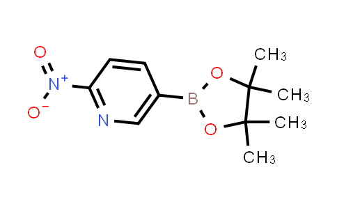 2-nitro-5-(4,4,5,5-tetramethyl-1,3,2-dioxaborolan-2-yl)pyridine