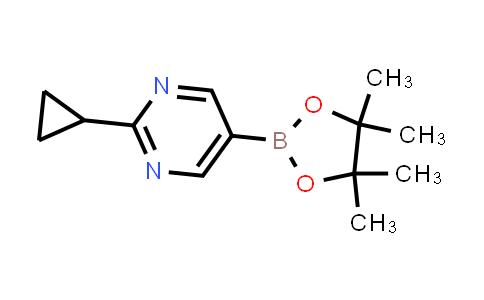 BP24607 | 1375301-91-9 | 2-cyclopropyl-5-(4,4,5,5-tetramethyl-1,3,2-dioxaborolan-2-yl)pyrimidine