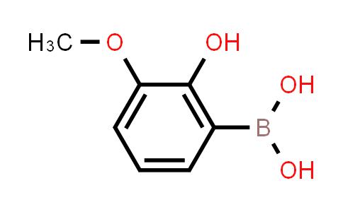 2-hydroxy-3-methoxyphenylboronic acid