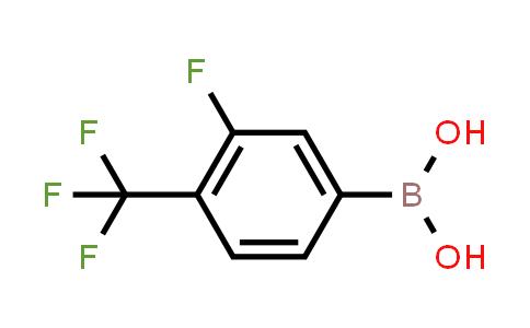 3-fluoro-4-(trifluoromethyl)phenylboronic acid