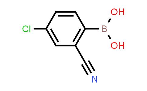 4-chloro-2-cyanophenylboronic acid