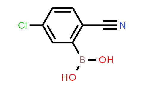 5-chloro-2-cyanophenylboronic acid