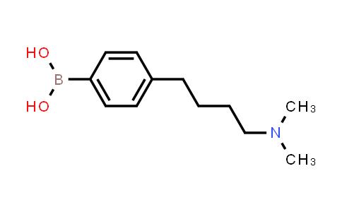4-(4-(dimethylamino)butyl)phenylboronic acid
