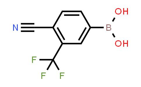 BP24623 | 915299-32-0 | 4-cyano-3-(trifluoromethyl)phenylboronic acid