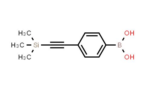 4-((trimethylsilyl)ethynyl)phenylboronic acid