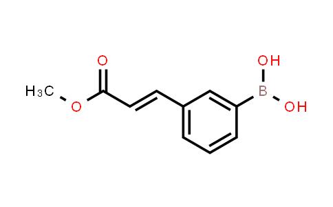 3-(3-methoxy-3-oxoprop-1-enyl)phenylboronic acid