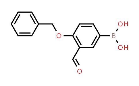 4-(benzyloxy)-3-formylphenylboronic acid