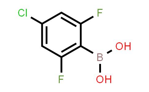 4-chloro-2,6-difluorophenylboronic acid