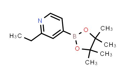 2-ethyl-4-(4,4,5,5-tetramethyl-1,3,2-dioxaborolan-2-yl)pyridine