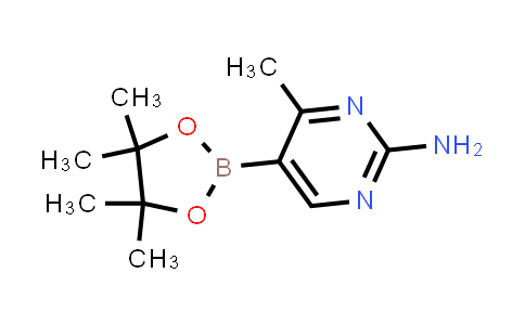 4-methyl-5-(4,4,5,5-tetramethyl-1,3,2-dioxaborolan-2-yl)pyrimidin-2-amine