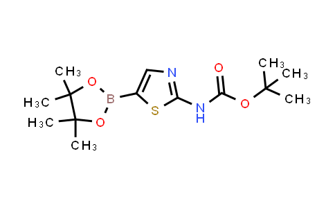 tert-butyl (5-(4,4,5,5-tetramethyl-1,3,2-dioxaborolan-2-yl)thiazol-2-yl)carbamate