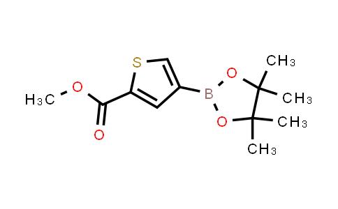 BP24656 | 709648-80-6 | methyl 4-(4,4,5,5-tetramethyl-1,3,2-dioxaborolan-2-yl)thiophene-2-carboxylate