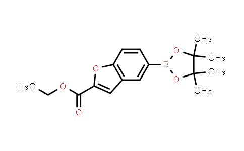 ethyl 5-(4,4,5,5-tetramethyl-1,3,2-dioxaborolan-2-yl)benzofuran-2-carboxylate