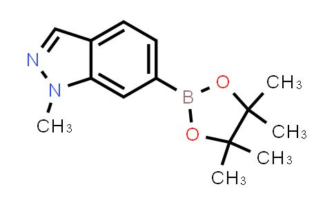 1-methyl-6-(4,4,5,5-tetramethyl-1,3,2-dioxaborolan-2-yl)-1H-indazole