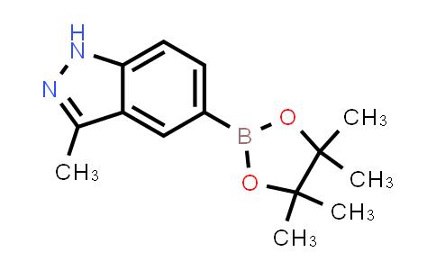 3-methyl-5-(4,4,5,5-tetramethyl-1,3,2-dioxaborolan-2-yl)-1H-indazole