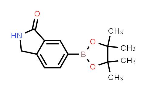 6-(4,4,5,5-tetramethyl-1,3,2-dioxaborolan-2-yl)isoindolin-1-one