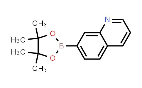 7-(4,4,5,5-tetramethyl-1,3,2-dioxaborolan-2-yl)quinoline