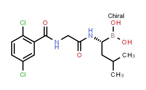 (R)-(1-(2-(2,5-dichlorobenzamido)acetamido)-3-methylbutyl)boronic acid