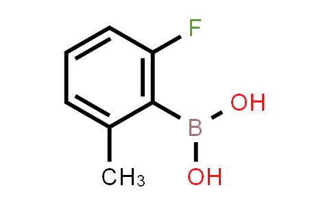 2-fluoro-6-methylphenylboronic acid