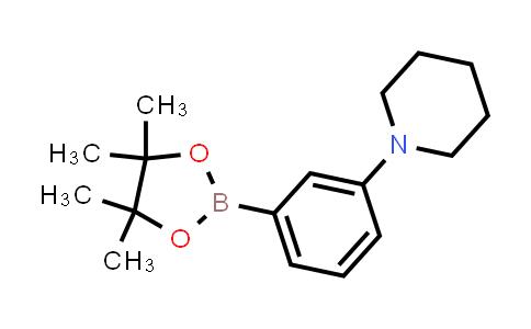 1-(3-(4,4,5,5-tetramethyl-1,3,2-dioxaborolan-2-yl)phenyl)piperidine