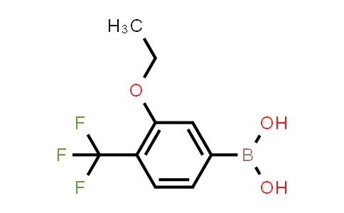3-ethoxy-4-(trifluoromethyl)phenylboronic acid