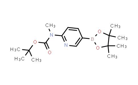 tert-butyl methyl(5-(4,4,5,5-tetramethyl-1,3,2-dioxaborolan-2-yl)pyridin-2-yl)carbamate