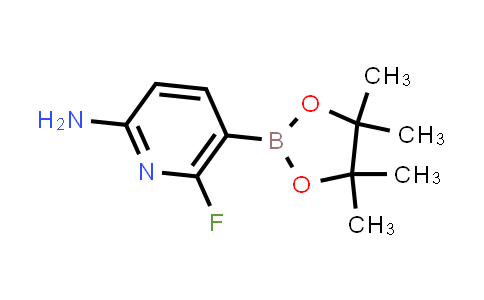 6-fluoro-5-(4,4,5,5-tetramethyl-1,3,2-dioxaborolan-2-yl)pyridin-2-amine