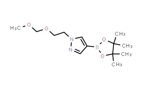 1-(2-(methoxymethoxy)ethyl)-4-(4,4,5,5-tetramethyl-1,3,2-dioxaborolan-2-yl)-1H-pyrazole