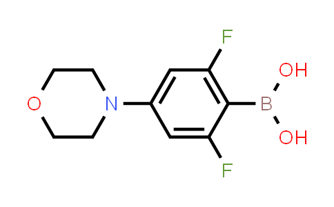 2,6-difluoro-4-morpholinophenylboronic acid