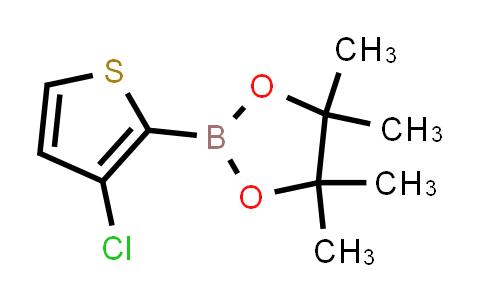 BP24696 | 1040281-97-7 | 2-(3-chlorothiophen-2-yl)-4,4,5,5-tetramethyl-1,3,2-dioxaborolane