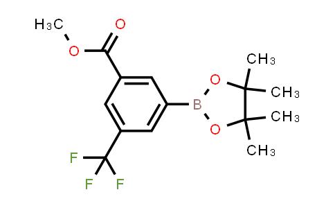 methyl 3-(4,4,5,5-tetramethyl-1,3,2-dioxaborolan-2-yl)-5-(trifluoromethyl)benzoate