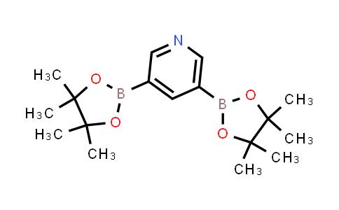 3,5-bis(4,4,5,5-tetramethyl-1,3,2-dioxaborolan-2-yl)pyridine