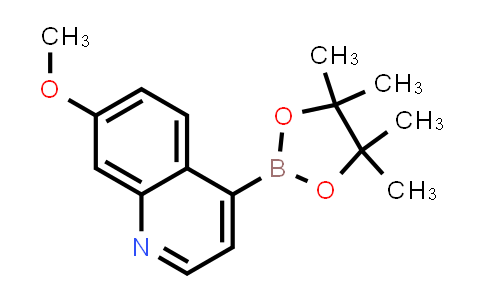 7-methoxy-4-(4,4,5,5-tetramethyl-1,3,2-dioxaborolan-2-yl)quinoline