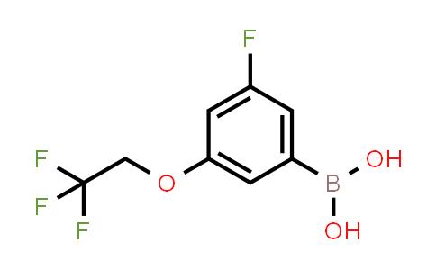 3-fluoro-5-(2,2,2-trifluoroethoxy)phenylboronic acid