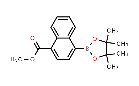 methyl 4-(4,4,5,5-tetramethyl-1,3,2-dioxaborolan-2-yl)-1-naphthoate