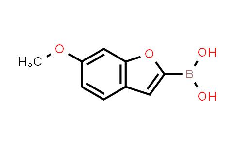 6-methoxybenzofuran-2-ylboronic acid