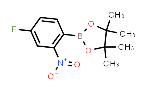 2-(4-fluoro-2-nitrophenyl)-4,4,5,5-tetramethyl-1,3,2-dioxaborolane