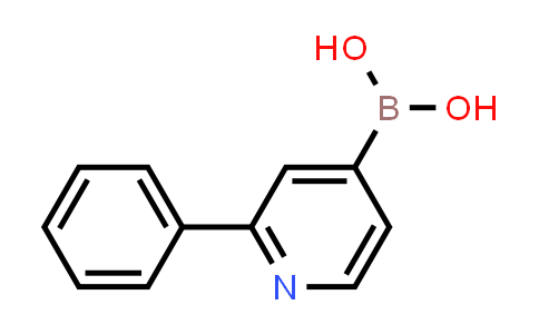 2-phenylpyridin-4-ylboronic acid