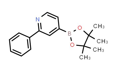 2-phenyl-4-(4,4,5,5-tetramethyl-1,3,2-dioxaborolan-2-yl)pyridine