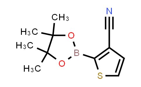 BP24739 | 463336-26-7 | 2-(4,4,5,5-tetramethyl-1,3,2-dioxaborolan-2-yl)thiophene-3-carbonitrile