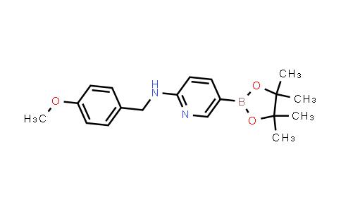 N-(4-methoxybenzyl)-5-(4,4,5,5-tetramethyl-1,3,2-dioxaborolan-2-yl)pyridin-2-amine
