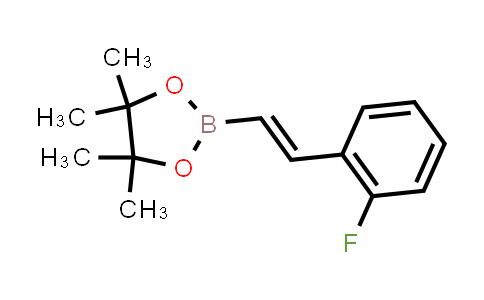(E)-2-(2-fluorostyryl)-4,4,5,5-tetramethyl-1,3,2-dioxaborolane