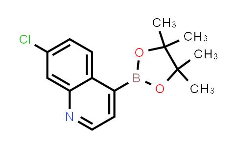BP24746 | 871125-83-6 | 7-chloro-4-(4,4,5,5-tetramethyl-1,3,2-dioxaborolan-2-yl)quinoline