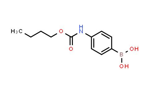 4-(butoxycarbonylamino)phenylboronic acid